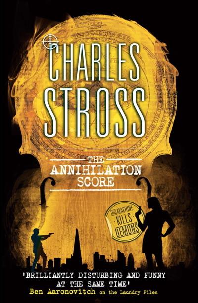 Annihilation Score cover