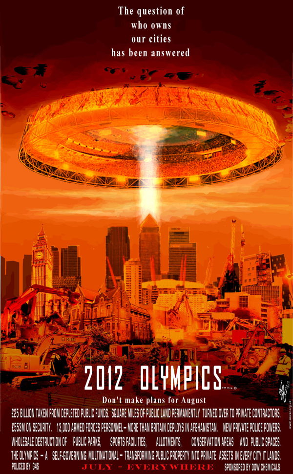 fuck the olympics!