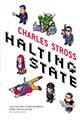 [Halting State UK trade paperback cover]