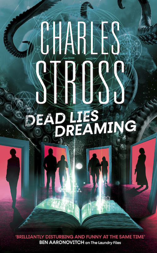 Dead Lies Dreaming UK cover
